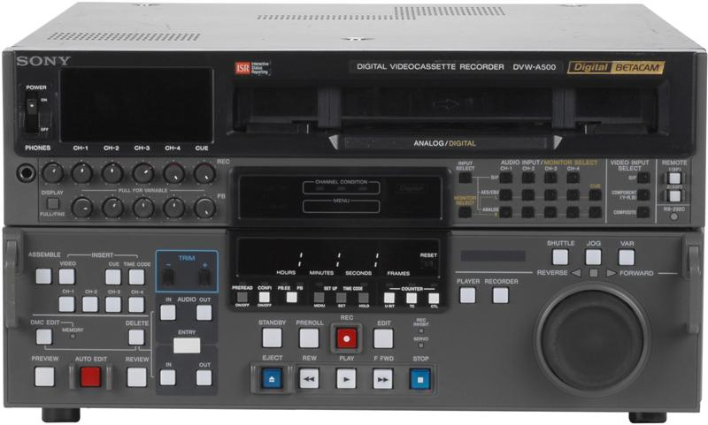Sony Dvw A500 Midtown Video