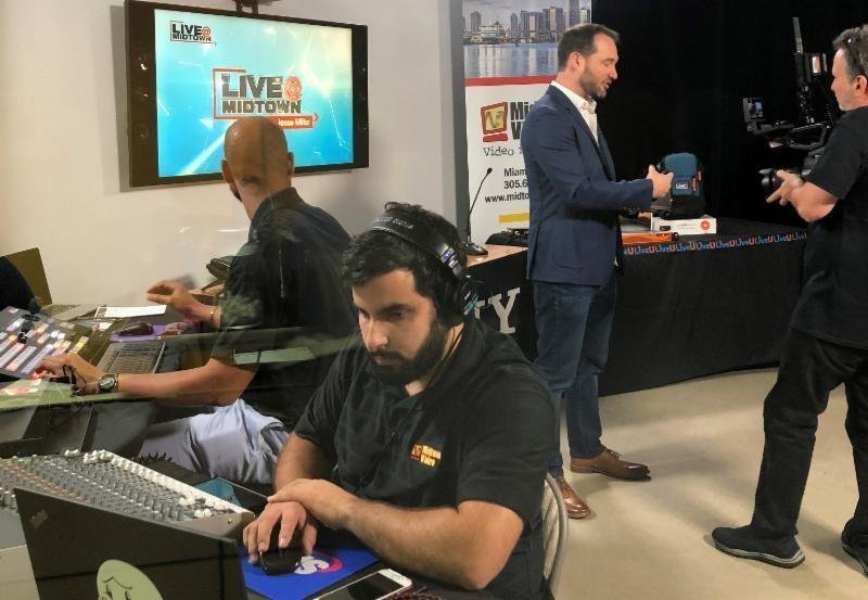 LiveU and NewTek Studio (and streaming) event | Midtown Video