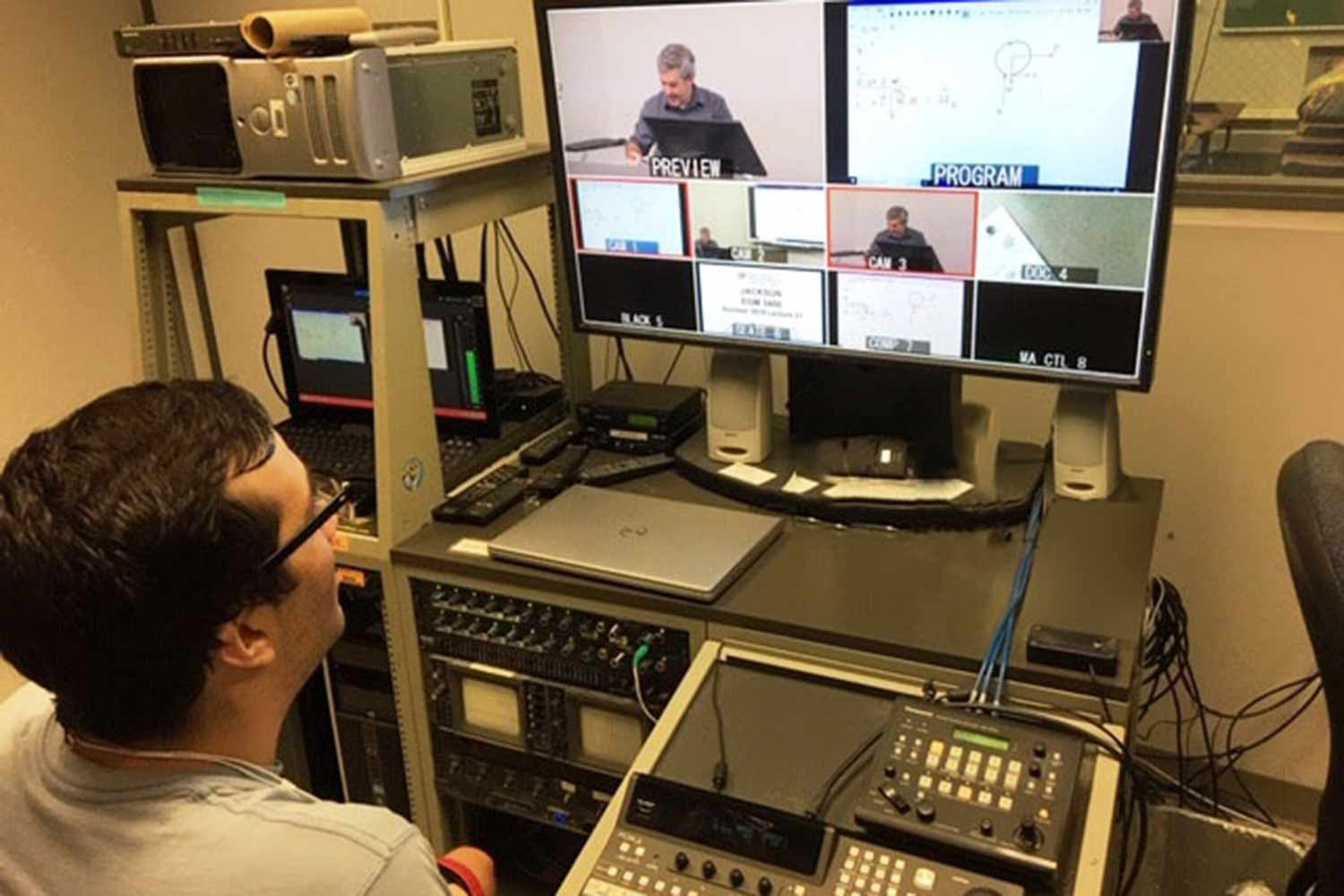 Mediasite Video Audio recording to classrooms at University of Florida