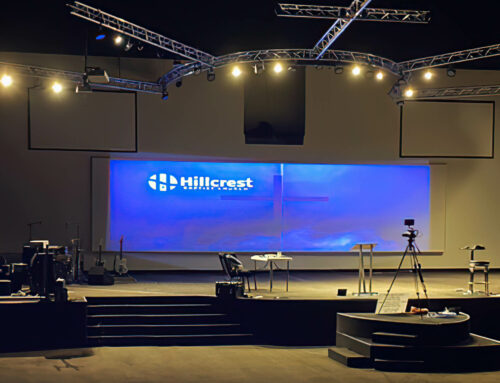 Hillcrest Baptist Church Projection